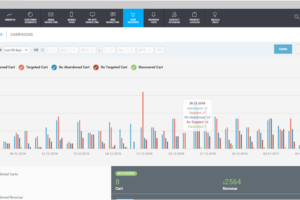 betaout dashboard analytics